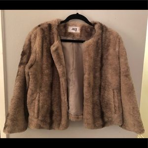 JACK by BB Dakota Fast & Fur-ious Faux Fur Jacket
